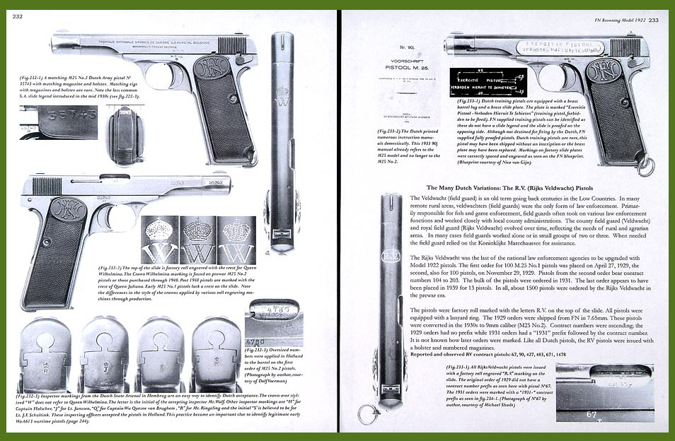 FN Browning Pistols Side-Arms that Shaped World History book
